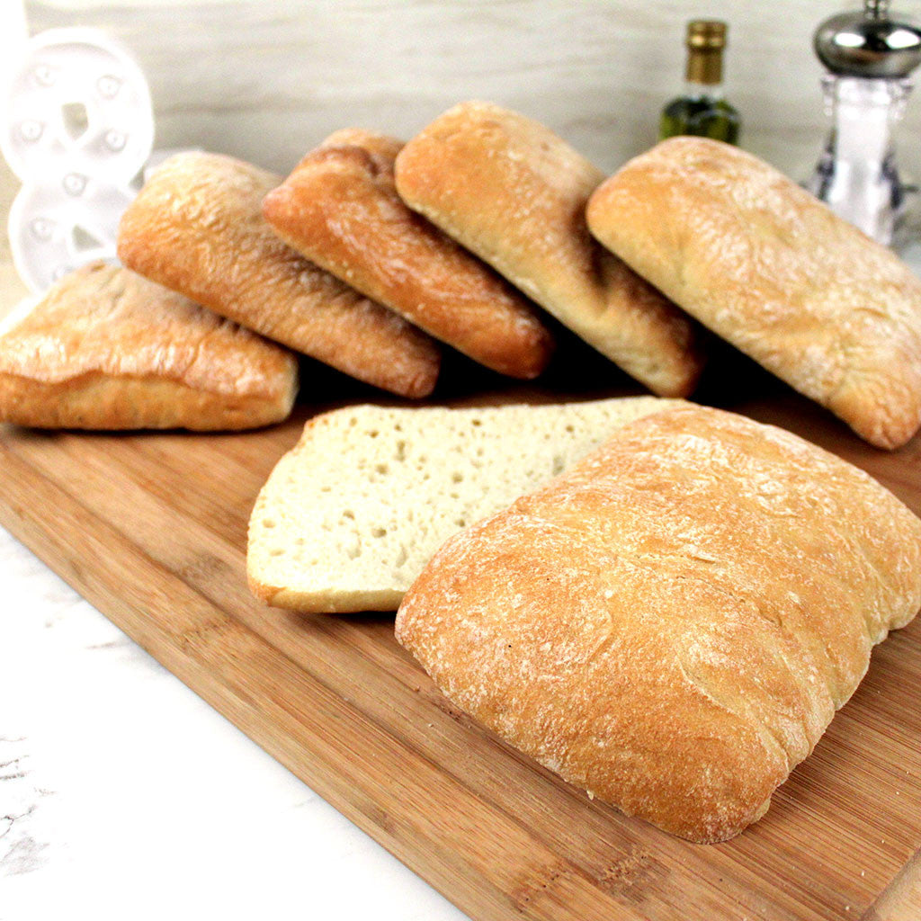 Bread LA Ciabattina 5x5 6ct bag - Milk and Eggs