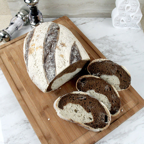 Bread LA Marble Rye Loaf - Milk and Eggs - 1