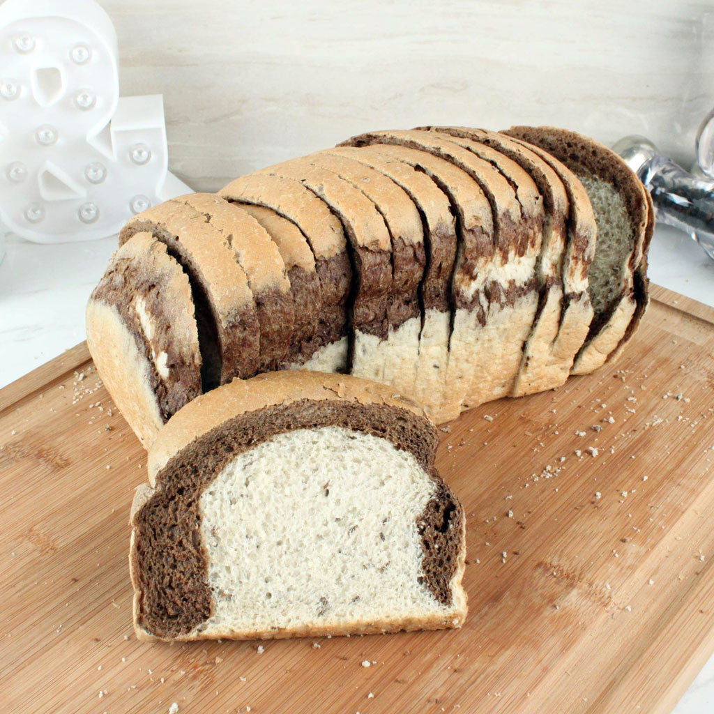 Bread LA Marble Rye Sliced Pan Loaf - Milk and Eggs