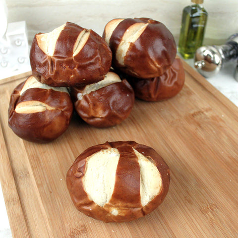 Bread LA Pretzel Buns 6ct Bag - Milk and Eggs