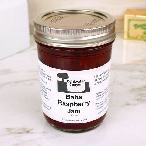 Butter - Coldwater Canyon Jam Baba Raspberry