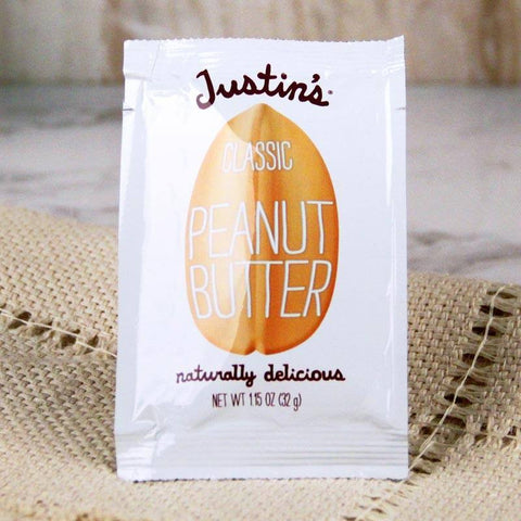 Butter - Justin's Individual Squeeze Packs All Natural Peanut Butter