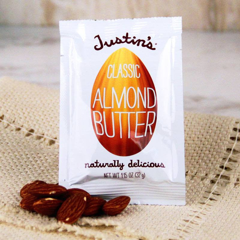 Butter - Justin's Individual Squeeze Packs Classic Almond Butter
