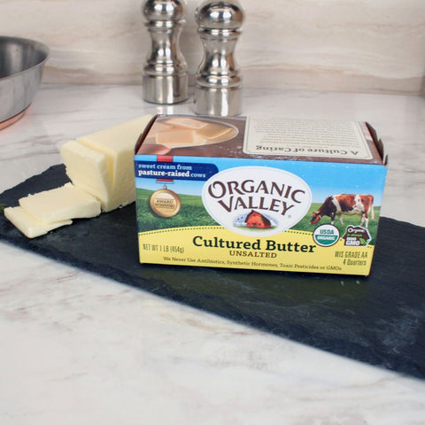 Organic Valley Unsalted Butter - Milk and Eggs