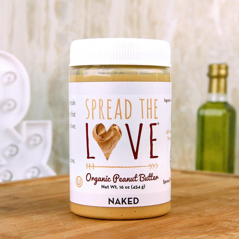 Butter - Spread The Love Naked Organic Peanut Butter 16 Oz