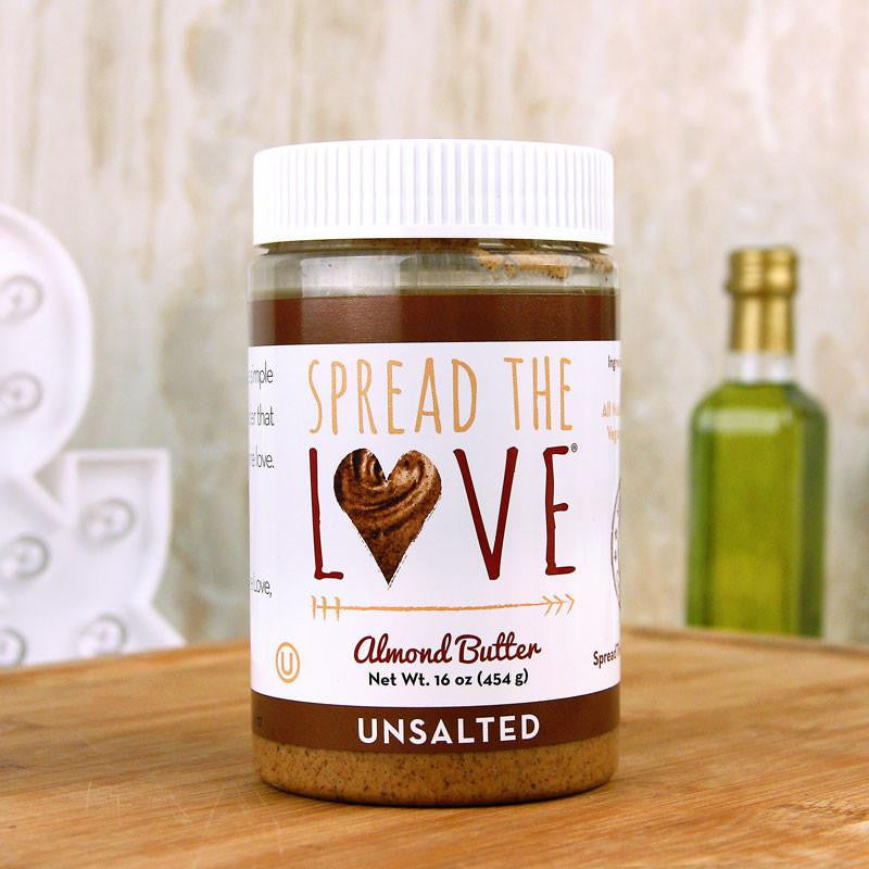 Butter - Spread The Love Unsalted Almond Butter 16 Oz