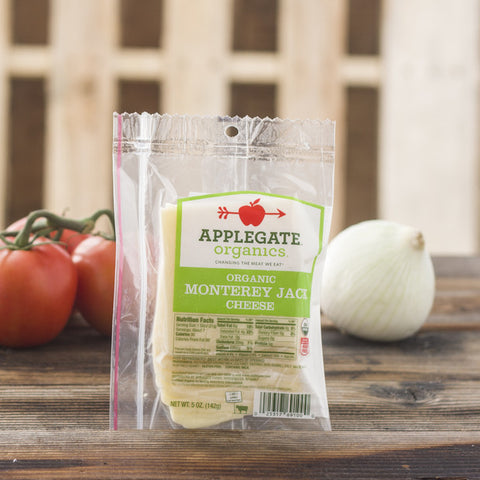 Applegate Organics Monterey Jack Cheese - Milk and Eggs