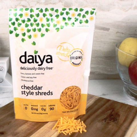 Cheese - Daiya Imitation Chedder Style Shreds