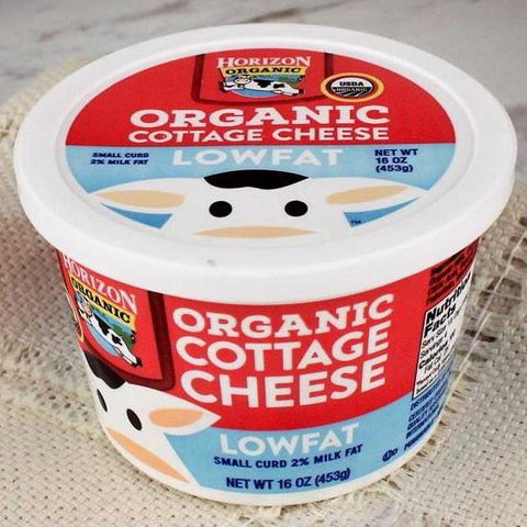 Cheese - Horizon Organic Cottage Cheese Lowfat