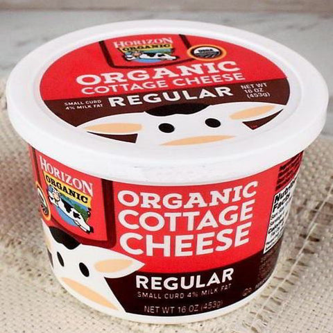 Cheese - Horizon Organic Cottage Cheese Regular
