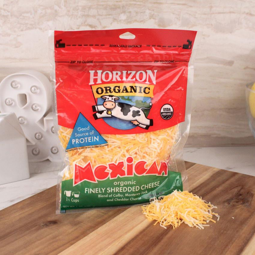 Cheese - Horizon Organic Mexican Blend Shredded Cheese