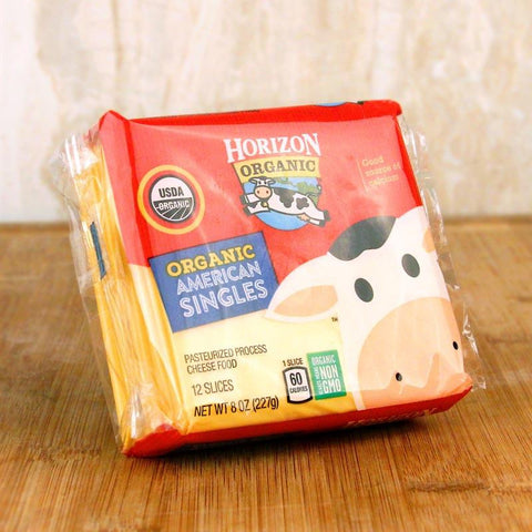 Cheese - Horizon Organic Singles American Cheese