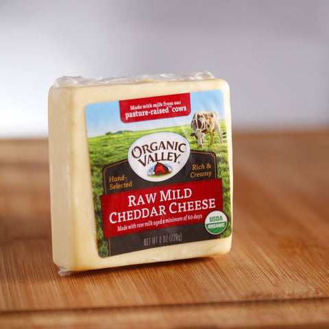 Organic Valley Mild Cheddar Cheese - Milk and Eggs