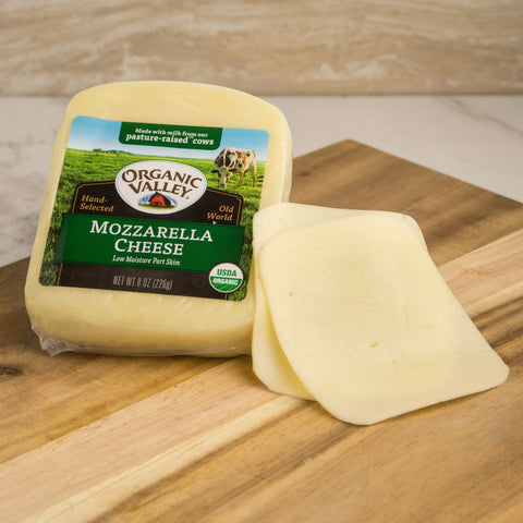 Organic Valley Mozzarella Cheese - Milk and Eggs