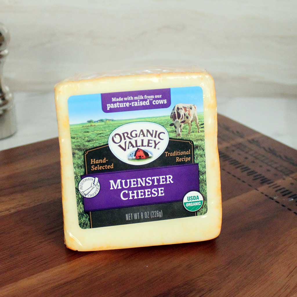 Organic Valley Muenster Cheese - Milk and Eggs