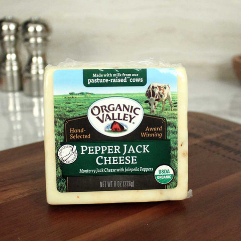 Organic Valley Pepper Jack Cheese - Milk and Eggs
