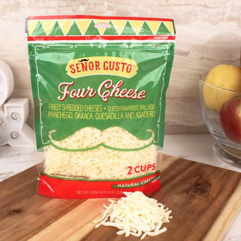 Cheese - Senor Gusto Four Cheese Blend Shredded Cheese