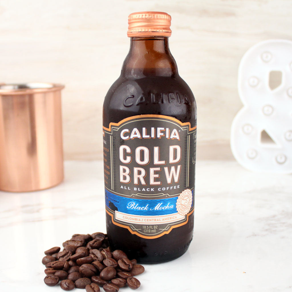 Califia Farms Cold Brew Black Label Mocha 10.5oz - Milk and Eggs - 1