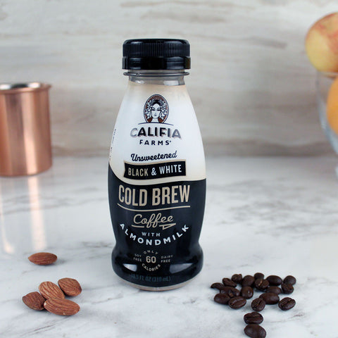 Califia Farms Cold Brew Black & White 10.5oz - Milk and Eggs - 1
