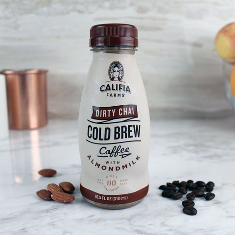 Califia Farms Cold Brew Dirty Chai 10.5oz - Milk and Eggs - 1