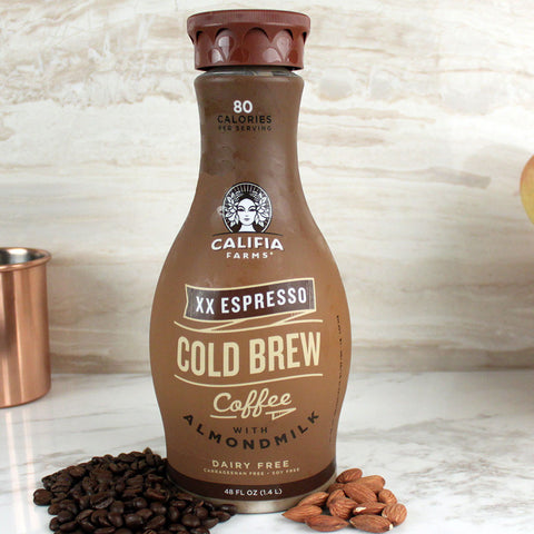 Califia Farms Cold Brew Double Espresso 48oz - Milk and Eggs