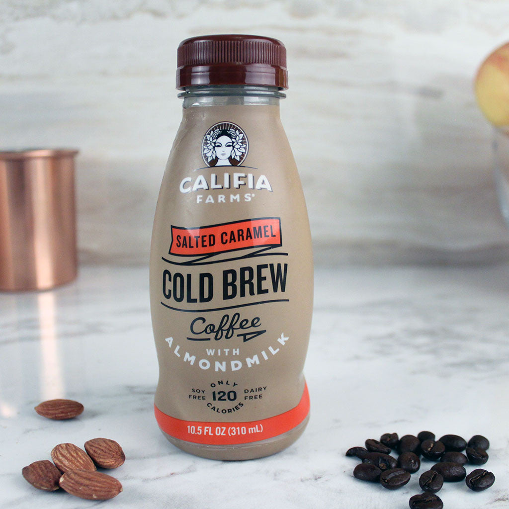 Califia Farms Cold Brew Salted Caramel 10.5oz - Milk and Eggs - 1