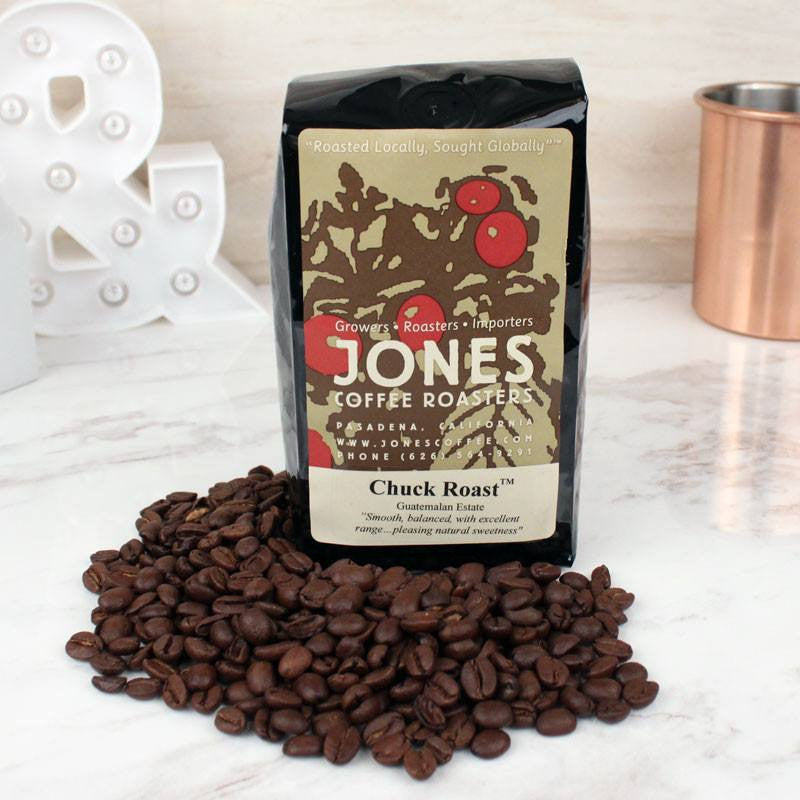 Coffee - Jones Coffee Whole Bean Chuck Roast