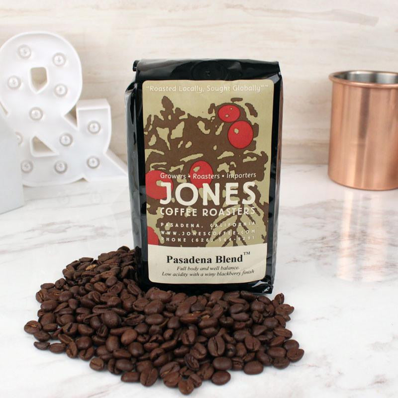 Coffee - Jones Coffee Whole Bean Pasadena Blend
