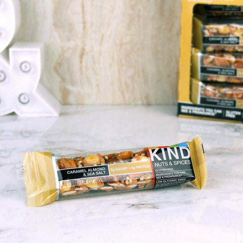 Cookies - Kind Caramel Almond & Sea Salt Bar