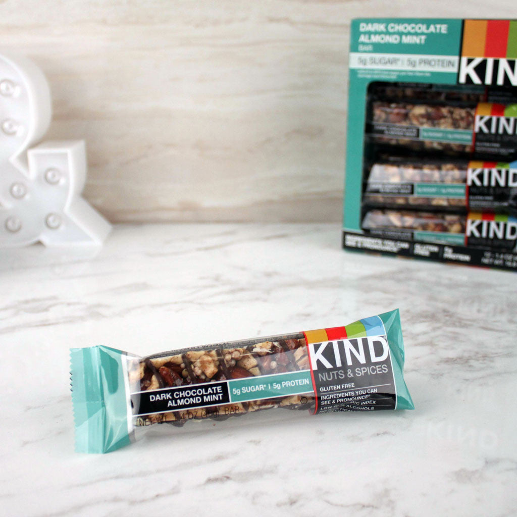 Kind Dark Chocolate Almond Mint Bar - Milk and Eggs - 1