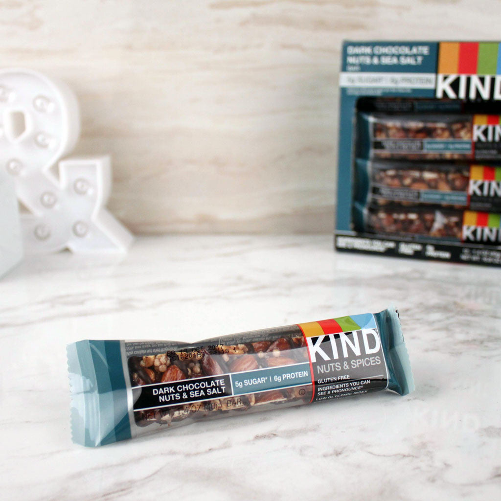 Kind Dark Chocolate Nuts & Sea Salt Bar – Milk and Eggs