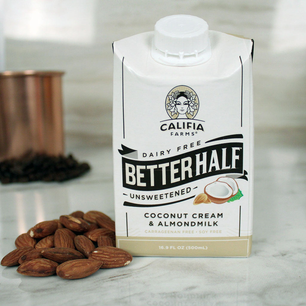 Califia Farms Better Half Unsweetened Coconut Cream & Almondmilk 16.9oz - Milk and Eggs - 1