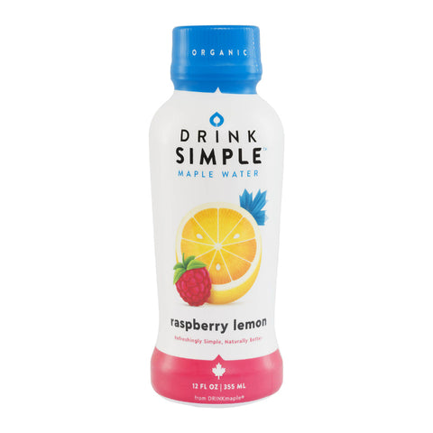 Drink Simple Maple Water Raspberry Lemon 12 oz