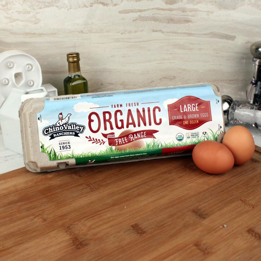Eggs - Chino Valley Organic Brown Eggs Free Range