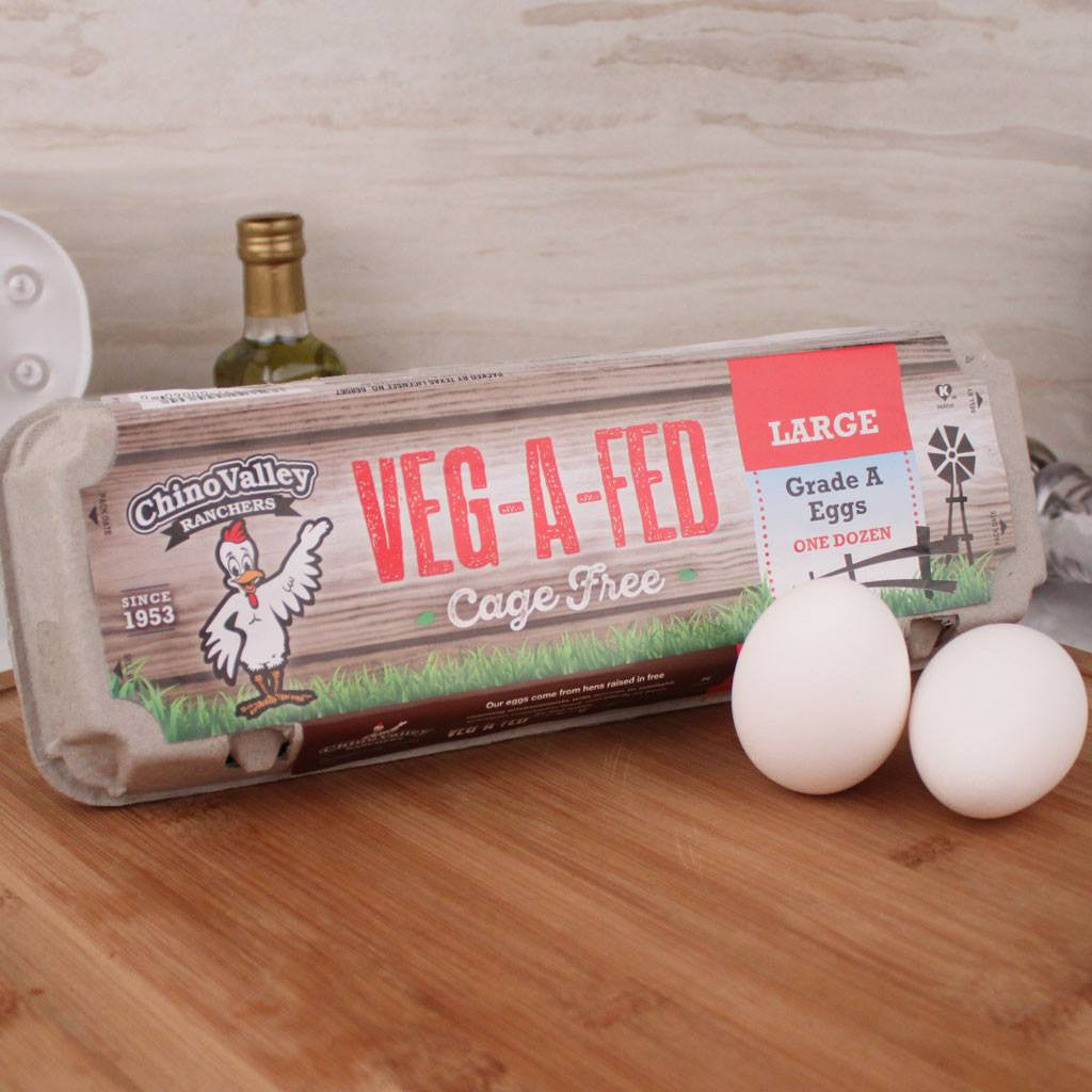 Eggs - Chino Valley Veg-A-Fed Eggs