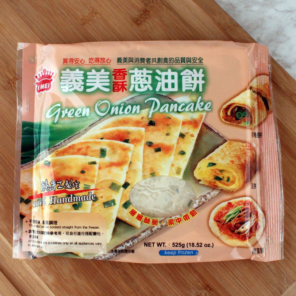 Ethnic Breads - I-Mei Green Onion Pancake
