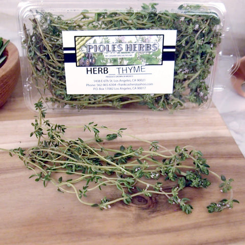 Herb Thyme - Milk and Eggs