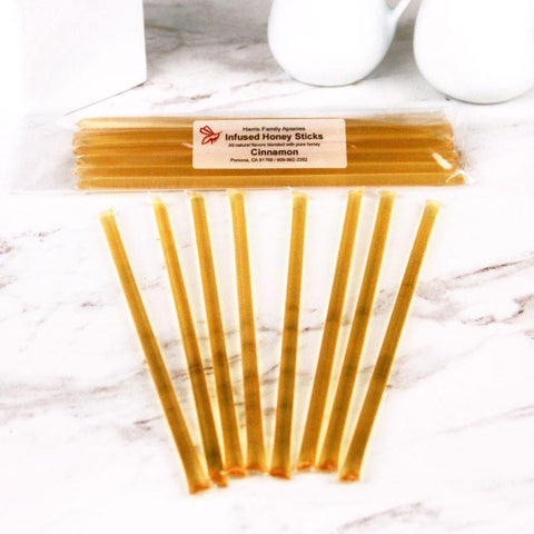Honey - Harris Family Apiaries Cinnamon Honey Sticks 8ct