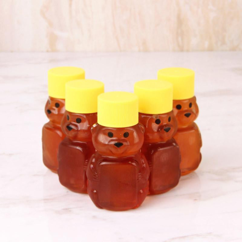 Honey - Harris Family Apiaries Honey Bear Wild Flower 2 Oz