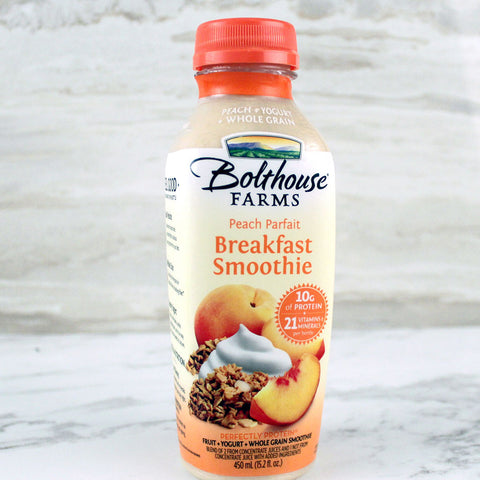 Bolthouse Farms Breakfast Smoothie Peach Parfait - Milk and Eggs - 1