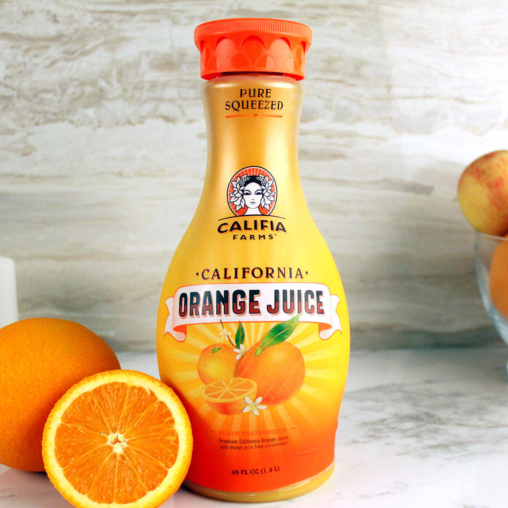 Califia Farms Orange Juice 48oz - Milk and Eggs - 1