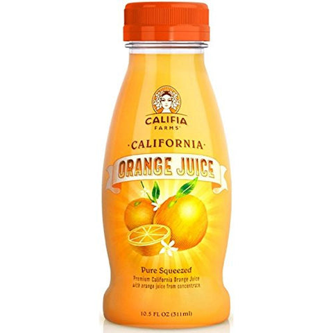Califia Farms Orange Juice Small 10.5oz - Milk and Eggs
