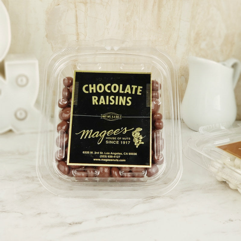 Magee's Nuts Chocolate Raisins 5.5 oz