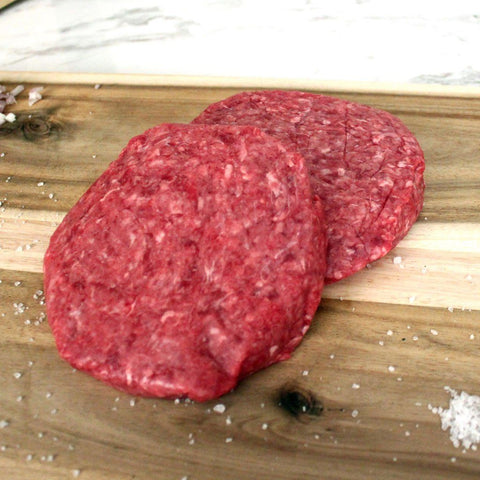Meat - Beef 1/2 LB Patties California Grass Fed Frozen