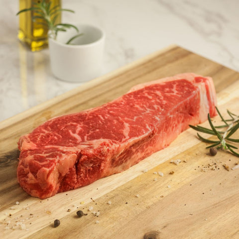 New York Steak Center Cut 14oz USDA Prime - Milk and Eggs