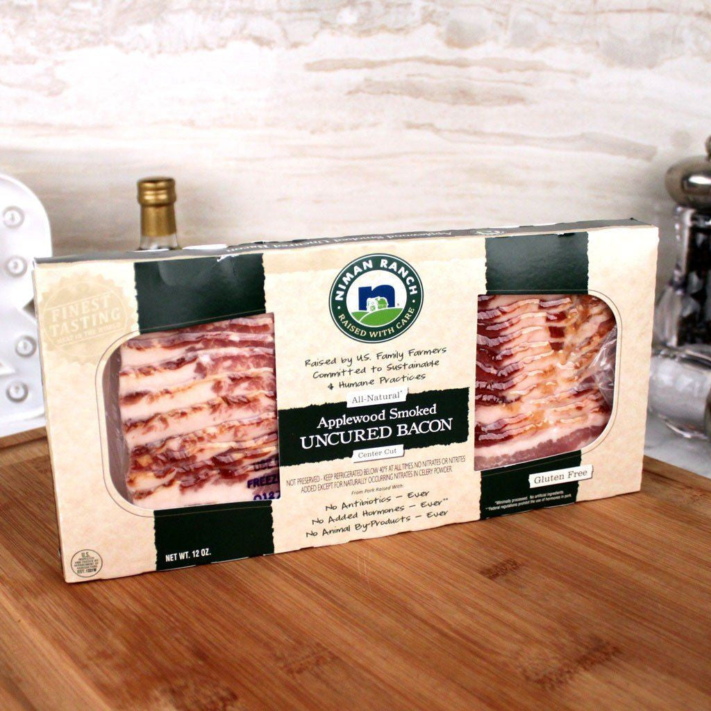 Meat - Niman Ranch Sliced Applewood Smoked Bacon 14-16 Slices
