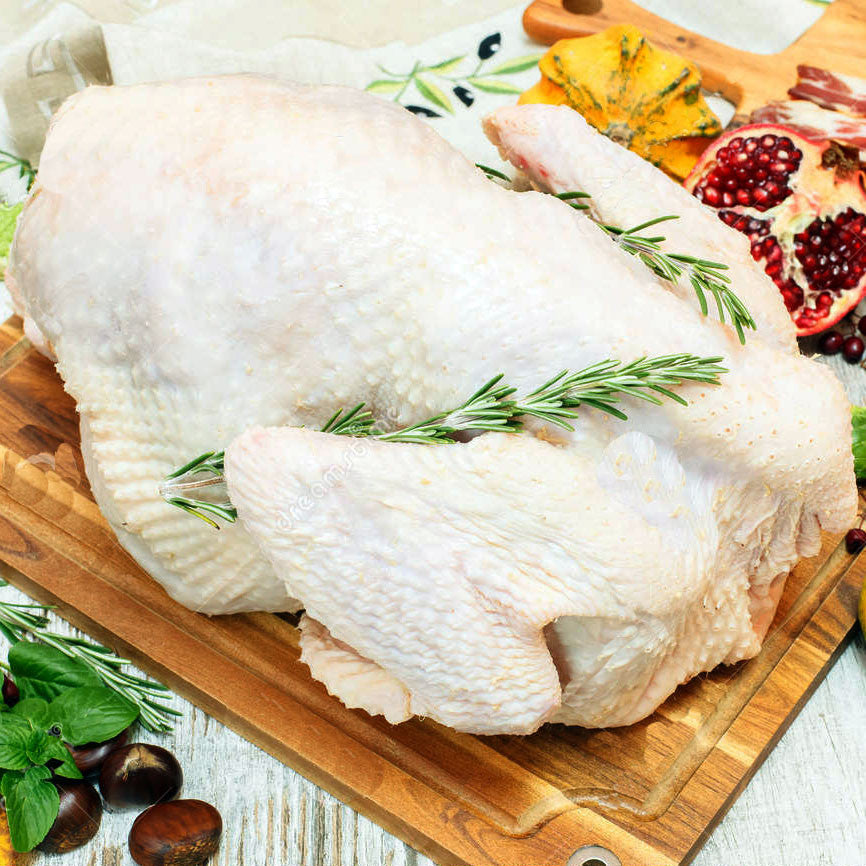 Norbest Whole Turkey 10-12 LB - Milk and Eggs - 1