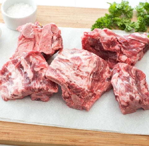 Pork Neck Bones for Stew - Milk and Eggs