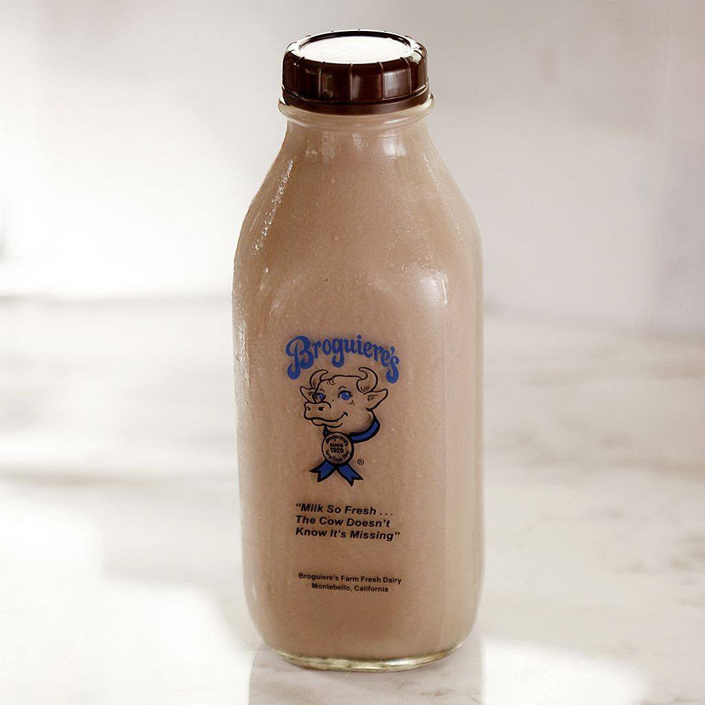 Milk - Broguiere's Chocolate Whole Milk