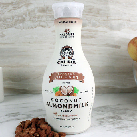 Califia Farms Almondmilk Toasted Coconut 48oz - Milk and Eggs - 1